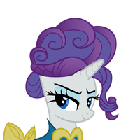 Rarity's Devious Look by Dharthez