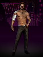 Bigby Wolf (Shirtless) - The Wolf Among Us by JhonyHebert
