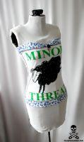 Minor Threat Corset by smarmy-clothes