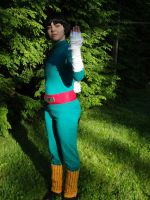 Rock Lee Costume Try-Out of YOUTH! by BirdMan-Hwah