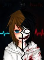 Jeff The Killer Before and After by Ren-Ravie