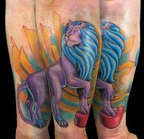 Ben's Circus Lion by Sirius-Tattoo