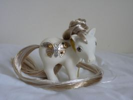 Custom my little pony cog butterfly 3 by thebluemaiden