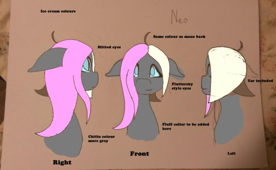 Neopolitan Mane Ref by Twisted-Six