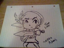 Toon Link sketch by CortexgalReturns