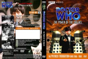 The Power of the Daleks Region 1 DVD Cover by DJToad