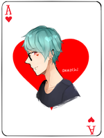 Ace of Hearts by akkochi