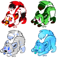 Canine Adopts-CLOSED by Metals-Adopts