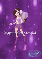 Gabriella Magic Winx transformation (with bg) by RapunzelitsaTangled