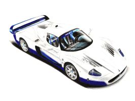 Maserati MC12 Drawing by xeonos