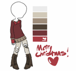 Merry Christmas Mifmemo! by deluxxy