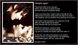 Breathe Again by VisualPoetress