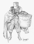 Hattie - Hatbox Ghost - Haunted Mansion by karcreat