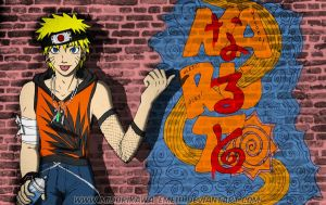 Graffiti Naruto by Midorikawa-eMe111