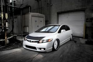 Honda New Civic Si by MurilloDesign