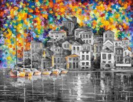 DREAM HARBOR  Limited edition giclee by Leonidafremov