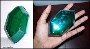 Papecraft Rupee by Cristophine