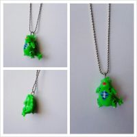 Tyranitar Necklace by kikums