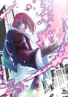 Yagami's Purple moon by Austh