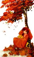 PKMN: Autumn leaves and you by StevenChong-no-GMF