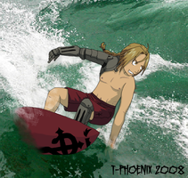 Surfing Ed by Heliotrope-Housecat