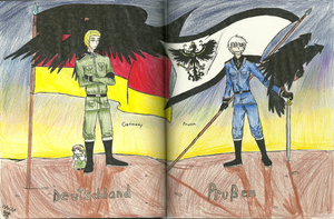 Brother's Flag and Pride by RedMoonDragon