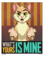 Animal Propaganda - Cat by marymouse