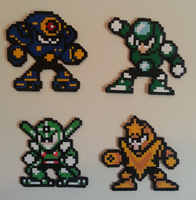 Megaman 5 Masters V1 by DuctileCreations