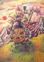 The Moving Castle by dimitto