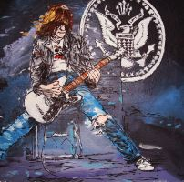 johnny ramone by kenbastard