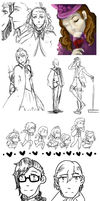 MN-OW Doodle Dump by Rndom-Obsessions
