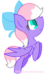 .:Commission:. Rainbow Biscuit (Base Edit) by Candy-Heartswirl