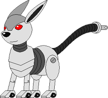 Fake Eeveelution: Roboteon by Masterge77