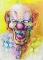 Clown by GRUISANGER