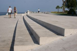 sea organ stairs by Her-Redness