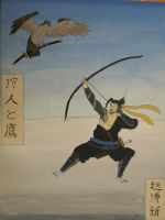 Hanzo, Traditional Japanese Style Painting by BrenZan