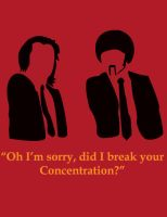 Pulp Fiction Quote Poster 1 by Coleslayer