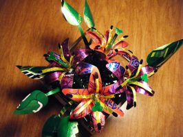 1st Recycled Lily Arrangement2 by Christine-Eige