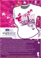 tshirt design competition by stitchDESIGN