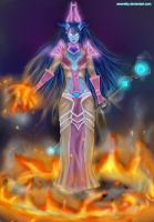 Fire mage by Ameretty