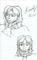 Rob Face Doodles by SirChristopher