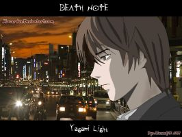 Yagami Light normal student by alucardvx
