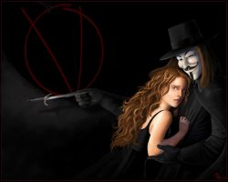 V for Vendetta by MeliHitchcock