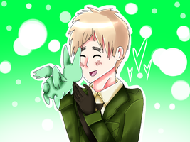 APH: 'Flying Mint Bunny!:D' by Field-Of-Roses