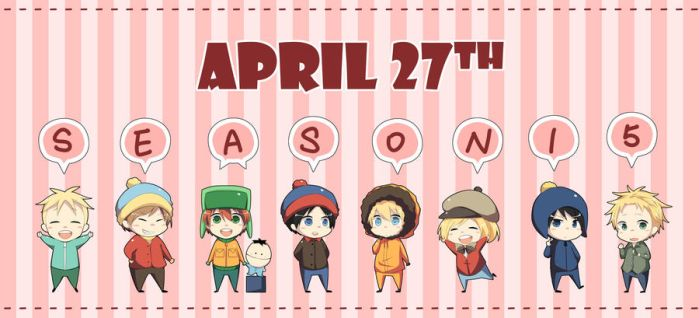 South Park Season 15 is coming by horosano