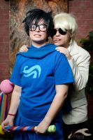 KatsuCon 2012 - Homestuck | Dave + John by elysiagriffin