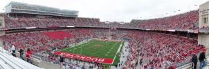 A Cloudy Day at Ohio Stadium by EagleEyesMcJohnson