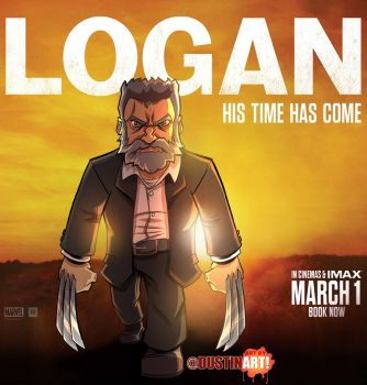 Logan the movie fanart by DustinEvans