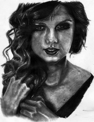 Taylor Swift Drawing by Scardona92