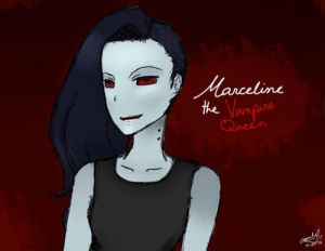 Marceline the Vampire Queen| Adventure Time by rosethorncams14
